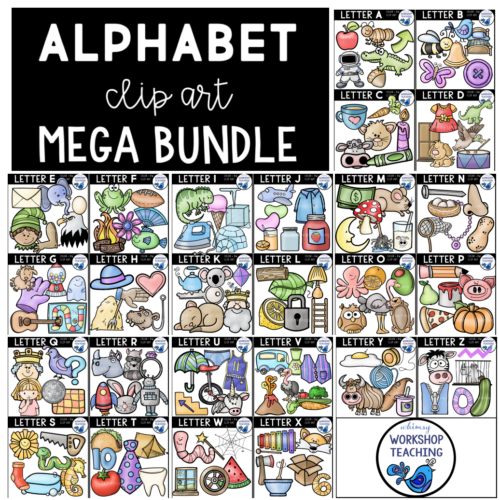 alphabet graphics megabundle