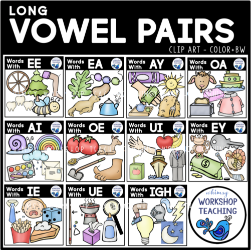 Long Vowel Pairs Cover