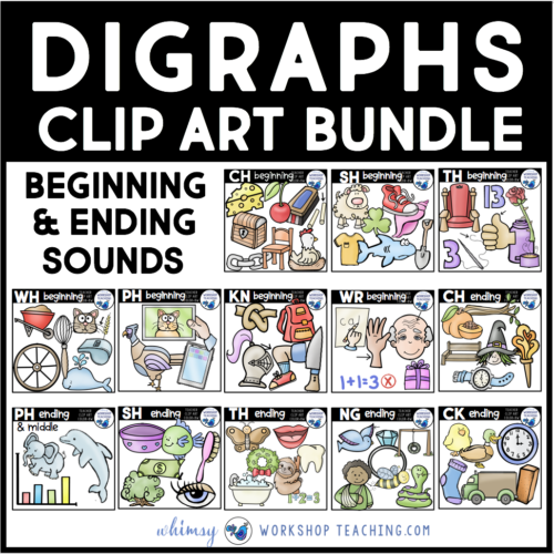 digraphs phonics cover