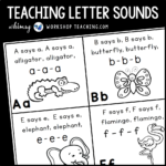 Tips for Teaching Letter Sounds