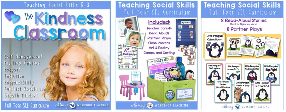 Kindness Classroom Social Skills Lessons