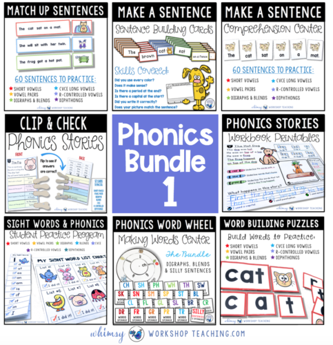 Phonics Bundle 1