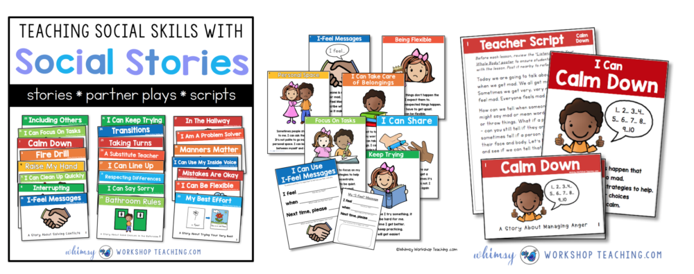 Social Skills Stories, Posters and Activities