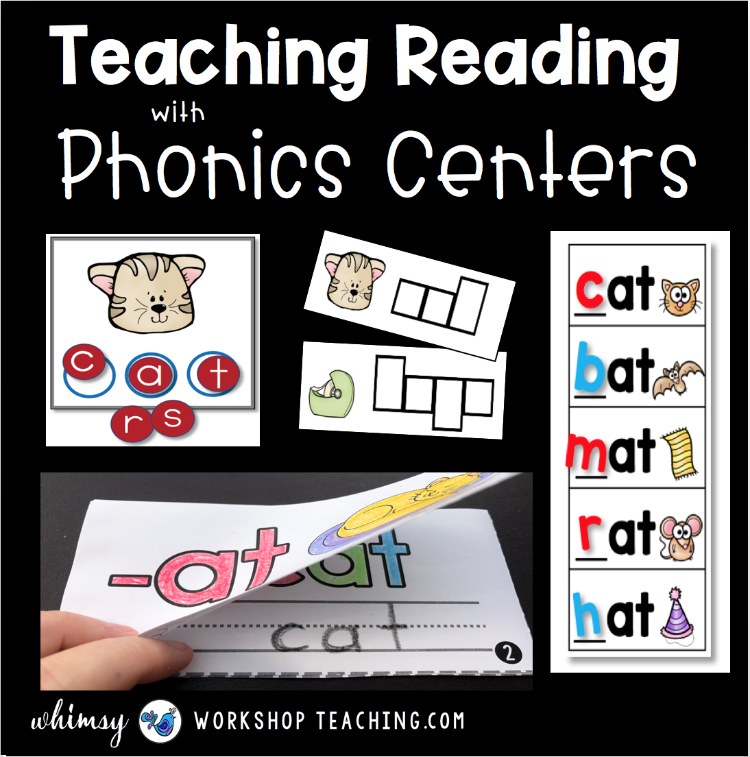 Teaching reading with phonics centers Whimsy Workshop Teaching