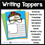 First Grade Writing: Free Downloads