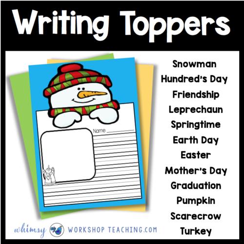 First Grade Writing: Free Downloads