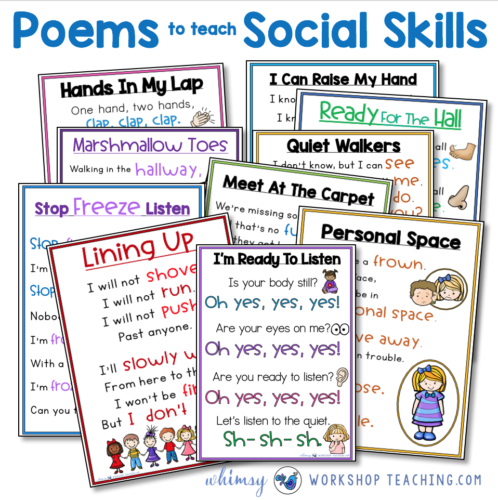 Poems that teach social skills