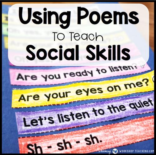 Social Skills Poetry