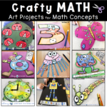 Math Crafts – Math + Art