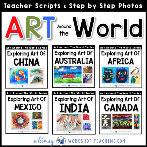 Art around the world lessons
