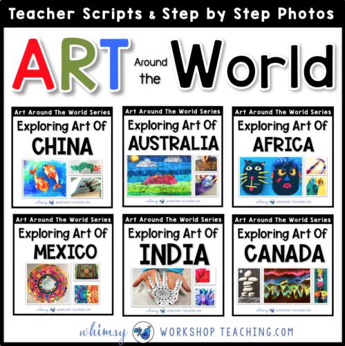 Art around the world lessons