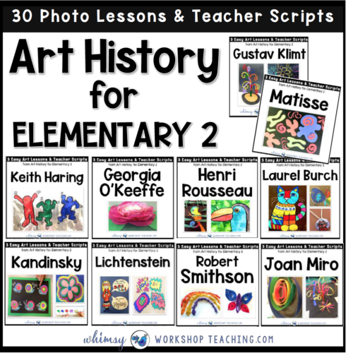 Art history 2 famous artists lessons