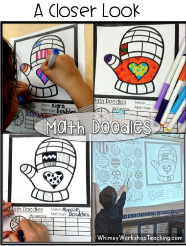 Student math doodles