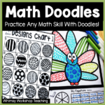 Math Doodles: First Grade Math Skills + Fun!