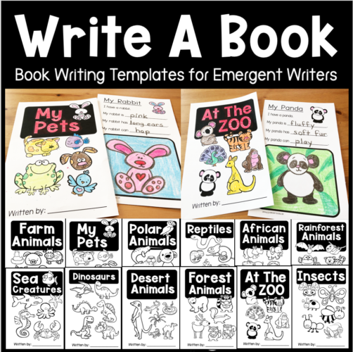 Write A Book Easy writing templates for little writers
