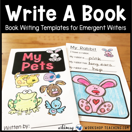 Writing In Primary – 12 Simple Book Projects