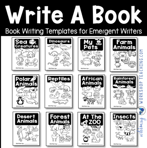 simple books for first grade writing