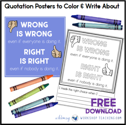 Quotation Station: Writing About Quotes