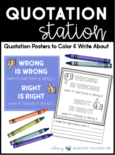 quotation station wrong is wrong