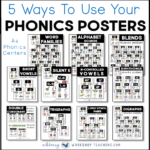 Phonics Posters – 5 Ways To Use Them
