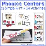 Simple Phonics Centers