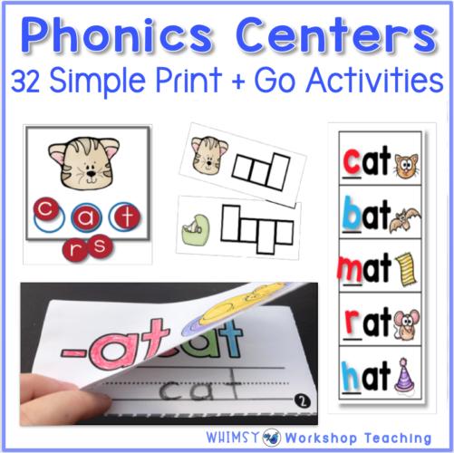 32 Phonics Centers