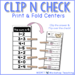 Math Centers: Free Downloads