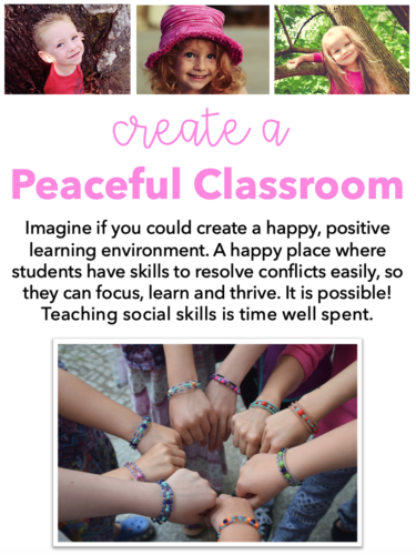 Create a Peaceful Classroom