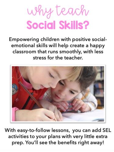 Why teach social skills?