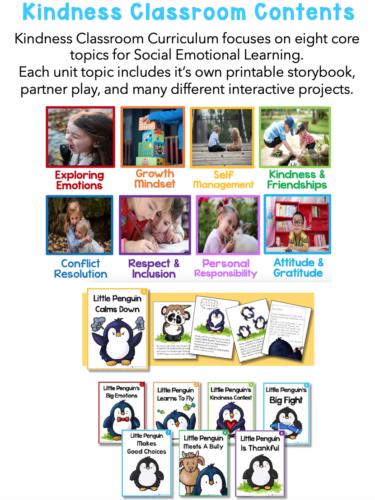 Kindness Classroom units and topics