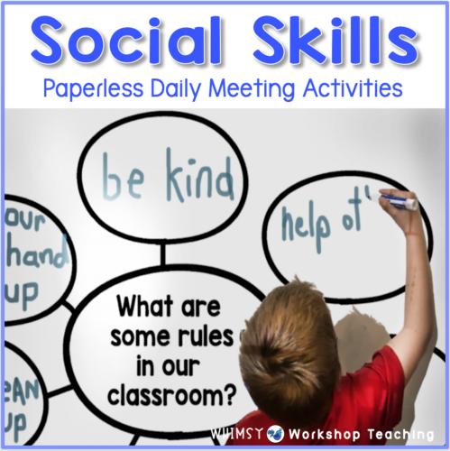 Social Skills Paperless