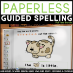 Guided Spelling Ideas