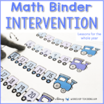 math intervention cover