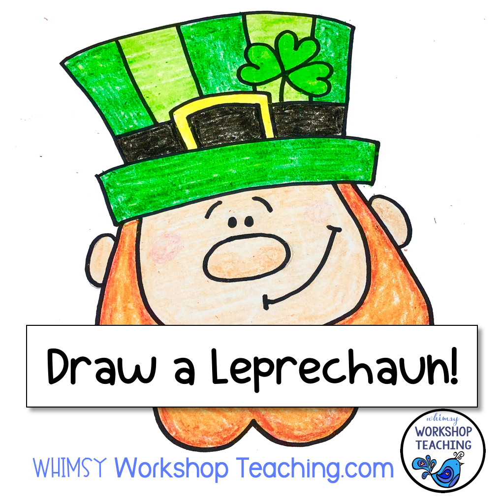 It's just a picture of Crazy Directed Drawing Leprechaun