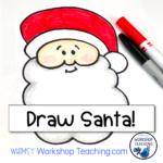 Directed Drawing Videos: Cute Santa