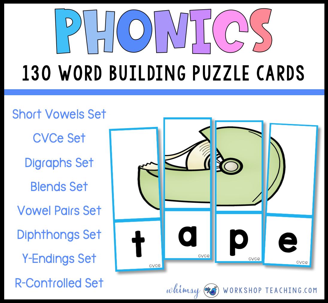 word puzzles for phonics practice