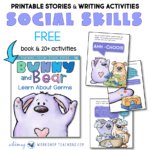Free downloads of Bunny And Bear social stories