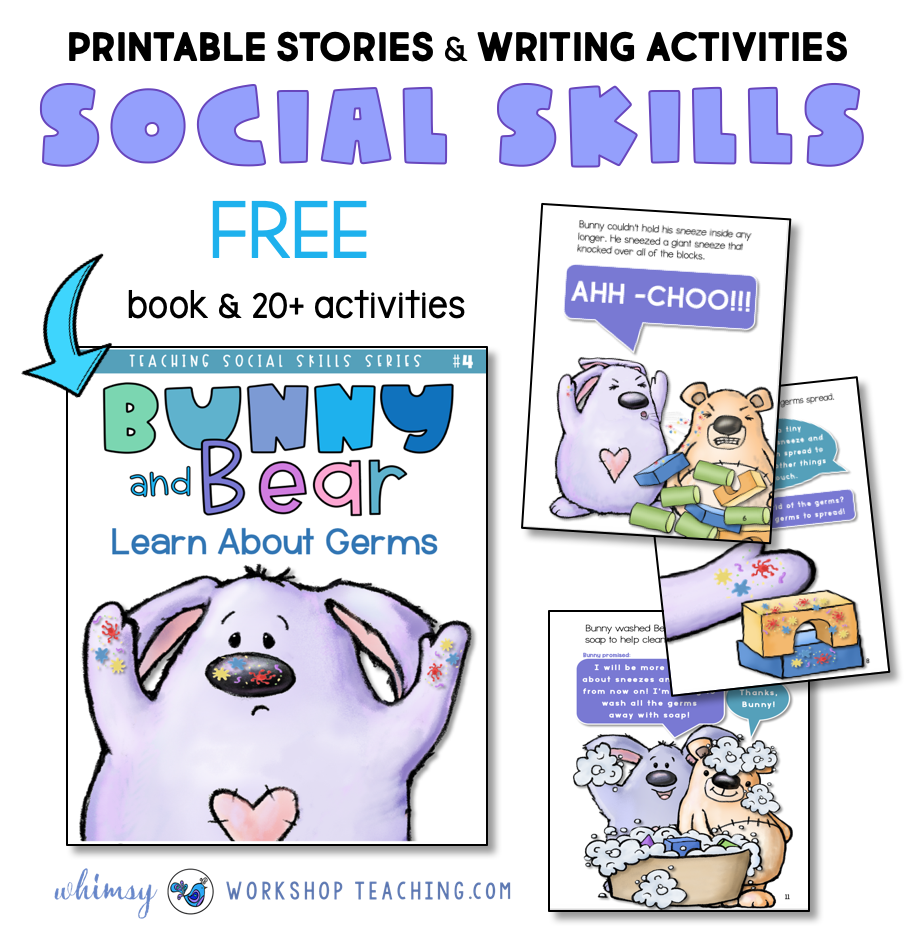 free printable story and workbook