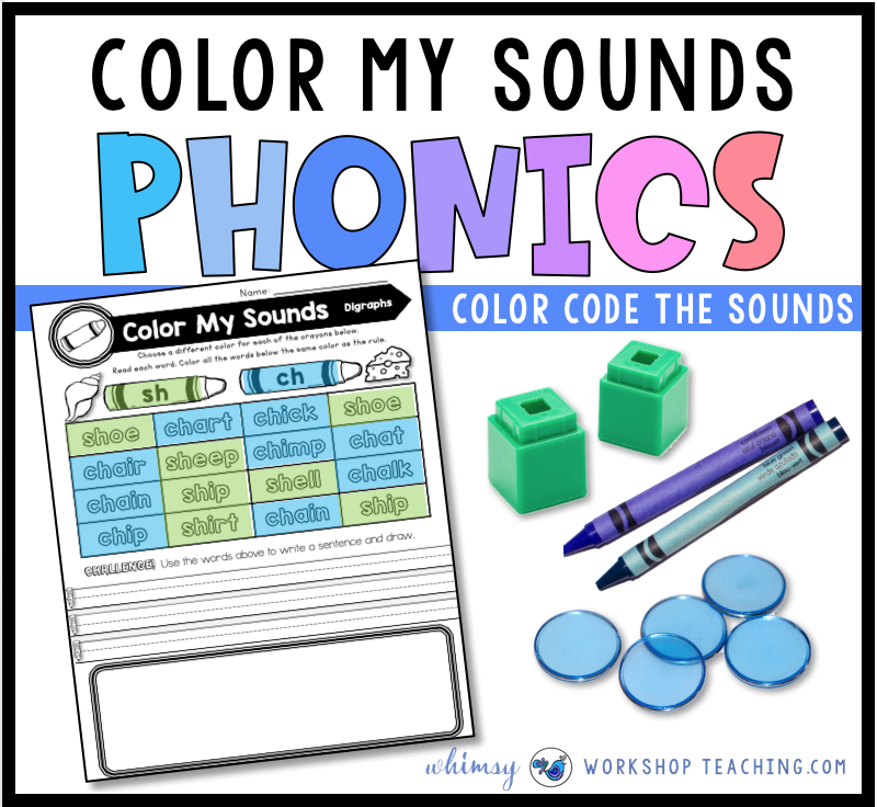 Color My Sounds Phonics Center