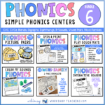 Phonics Bundle 6 Simple Phonics Center
