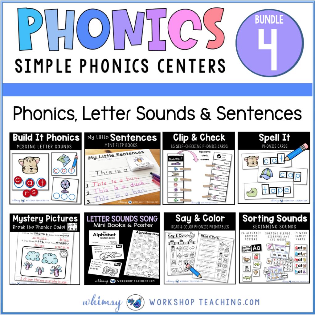 phonics bundle 4