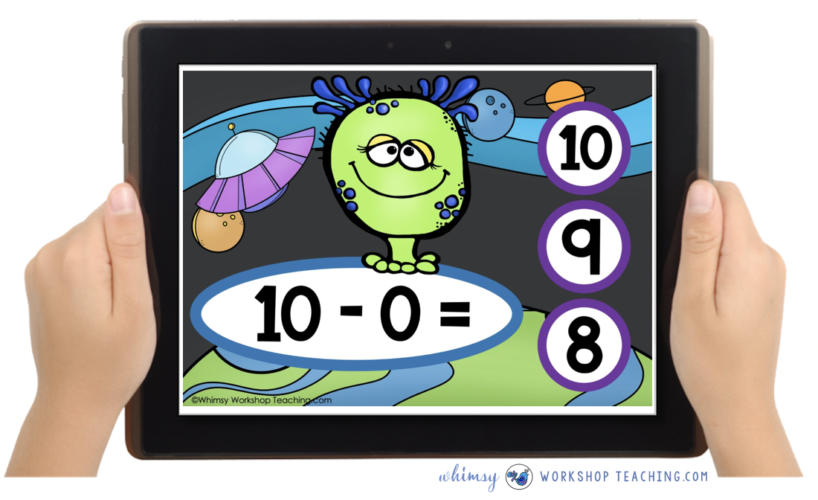 free preview of math task cards on boom learning