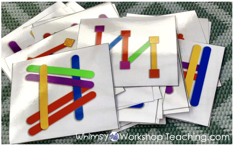 visual discrimination task cards