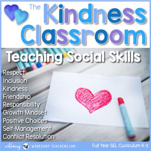 social skills lessons kindness classroom