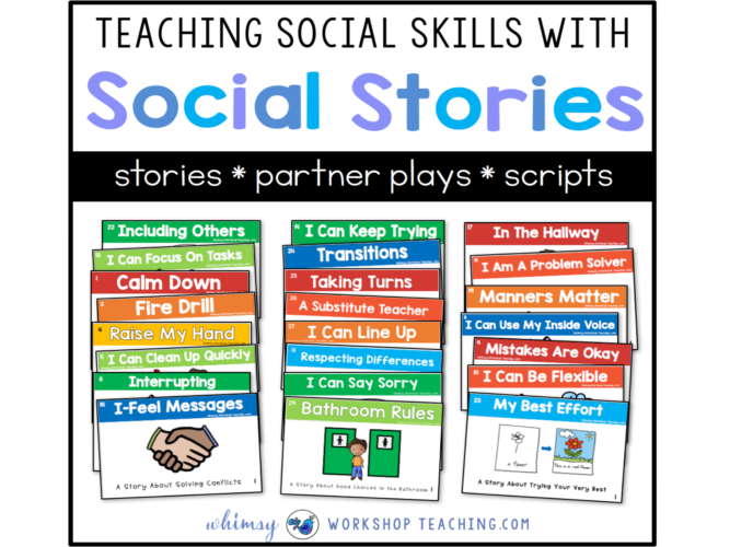 teaching SEL with social stories