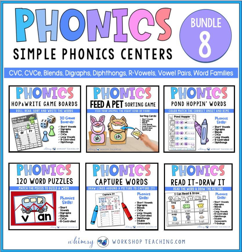 phonics bundle 8