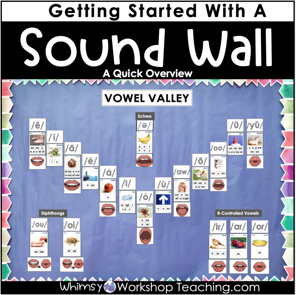sound wall starter guide from science of reading